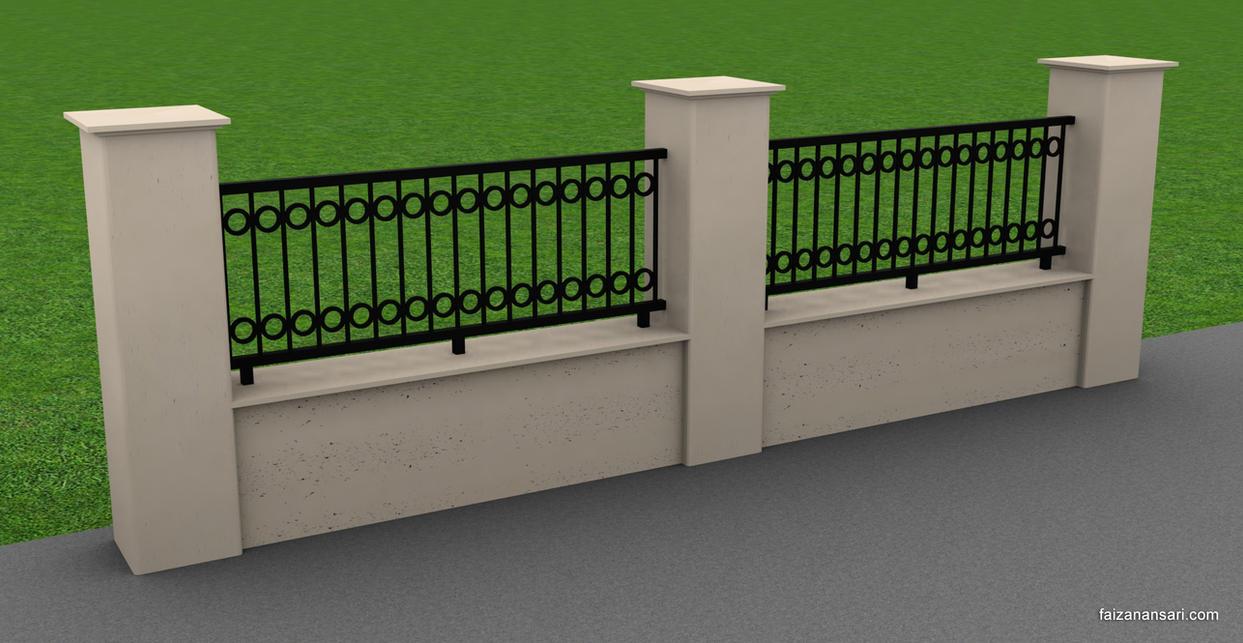 Fence - 3ds Max 2010 by faizansari90