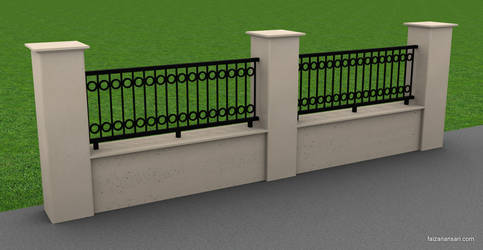Fence - 3ds Max 2010