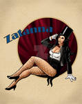 Zatanna pin up