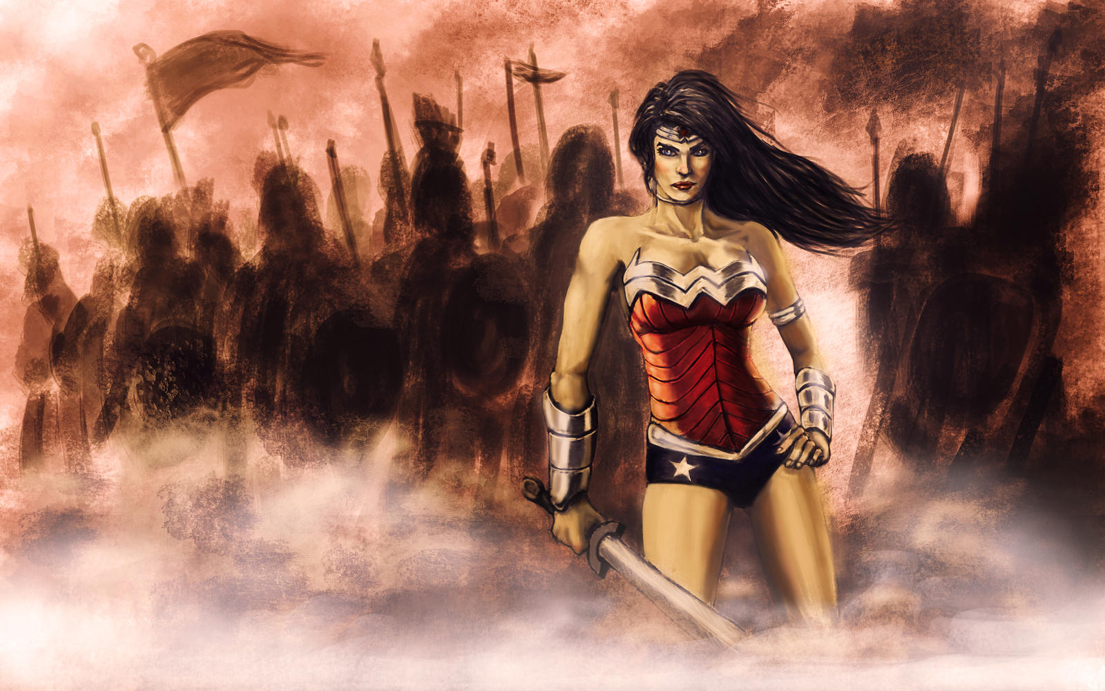 New Wonder Woman by brianlaborada