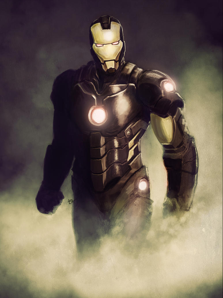 Iron Man NOW! by brianlaborada
