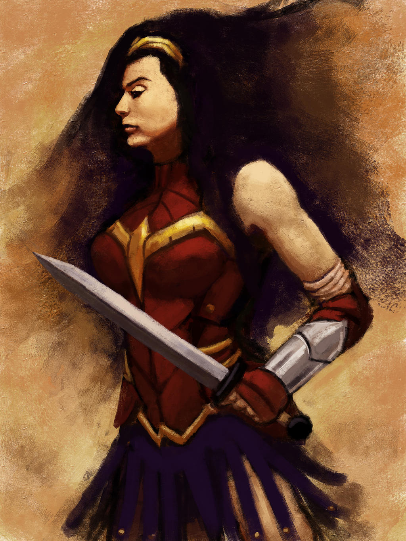 Wonder Woman 2013 by brianlaborada
