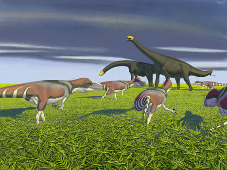 Jurassic fern prairie