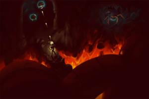 Metroid II by jofamo