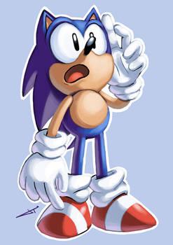 It's Sonic!