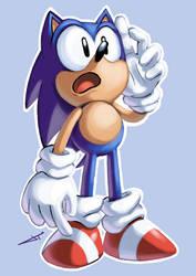 It's Sonic! by jofamo