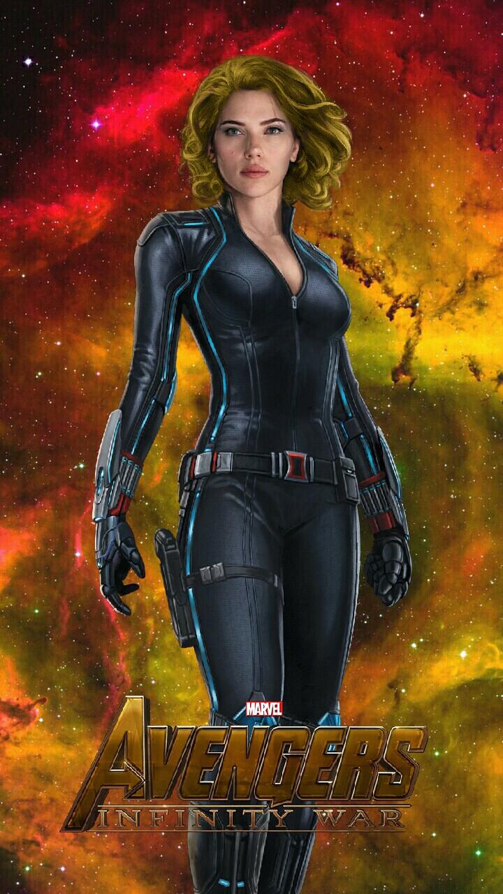 Black Widow Infinity War By Jacobseesaliens On Deviantart