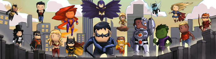 Scribblenauts Titans by rlanghi