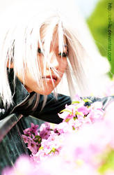 FF VII AC Kadaj cosplay 8 by Ciel-Liu