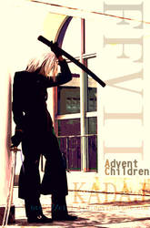 FF Vii AC Kadaj cosplay cover by Ciel-Liu