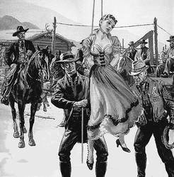 LYNCHING CATTLE KATE by peterpulp