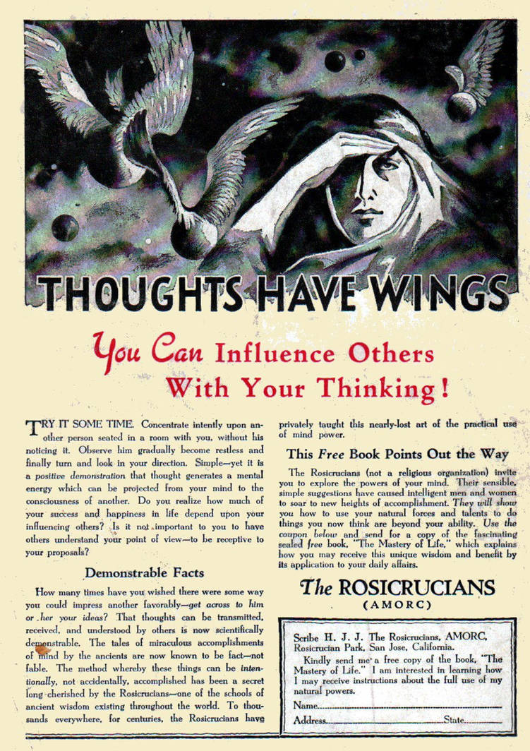 Thoughts Have Wings by peterpulp on DeviantArt