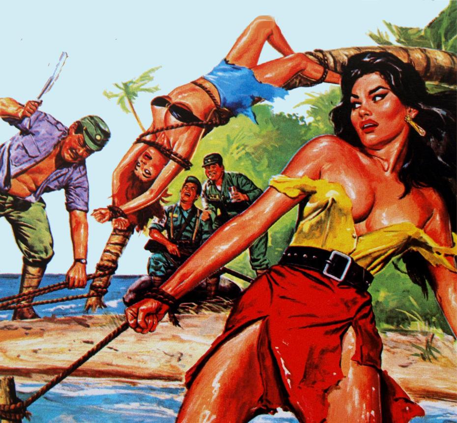 Erotic Art Group Sex Painting