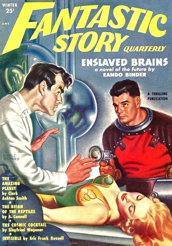 Fantastic Story Magazine 1950 Pulp Comic Books: Fantastic Story By Peterpulp On DeviantArt
