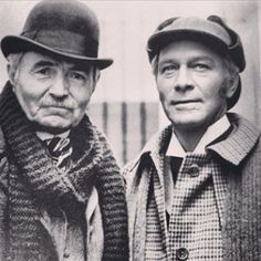 Holmes And Watson by peterpulp