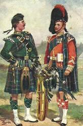 Seaforth Highlanders by peterpulp