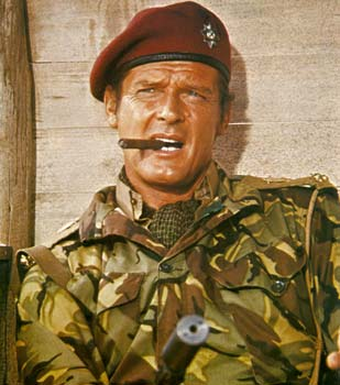 ROGER MOORE-the wild geese by peterpulp