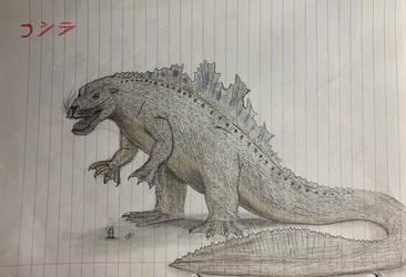 Godzilla (Synapsid) by MonsterZero-01