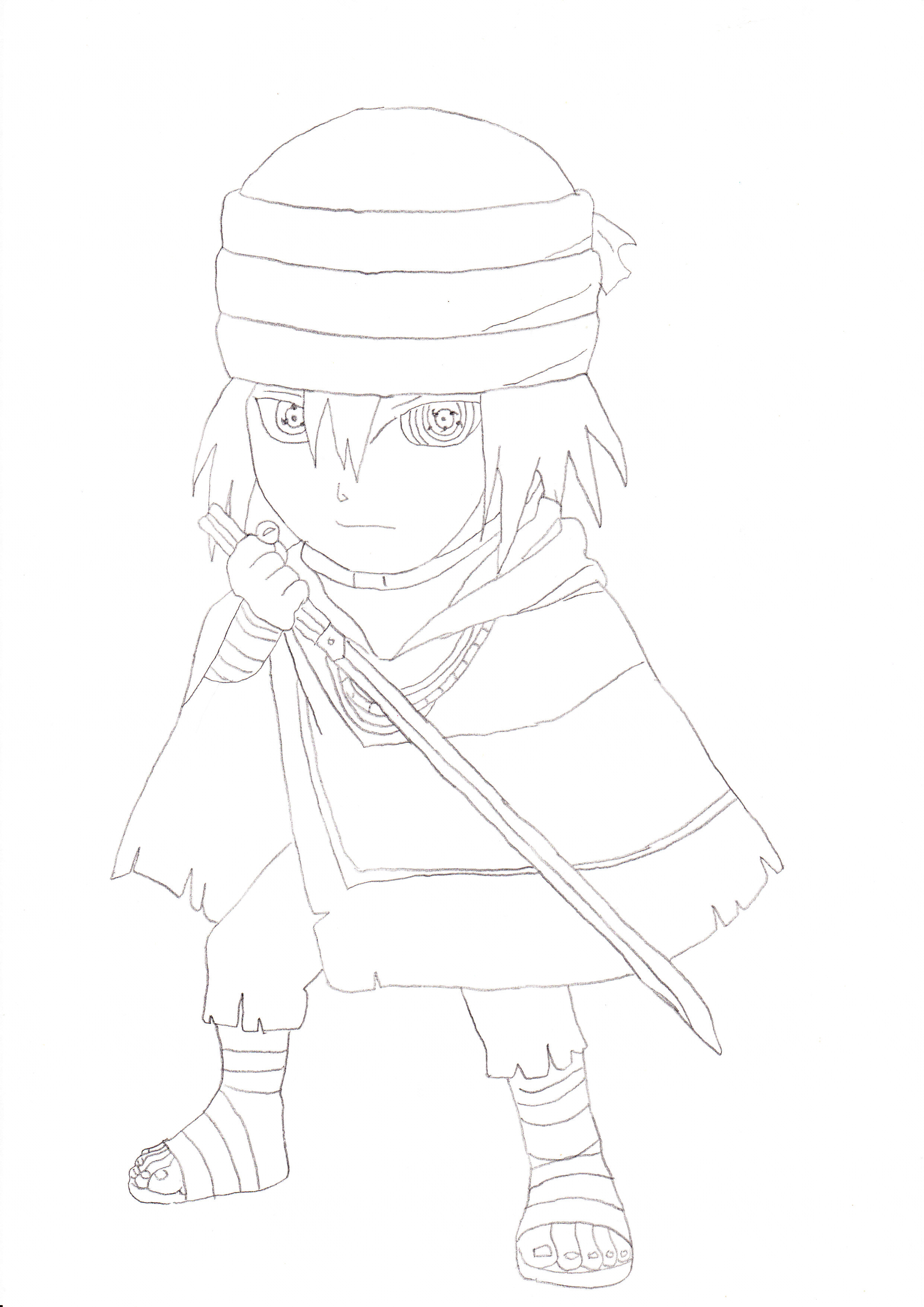 Sasuke Uchiha The Last Chibi by rosolinio on DeviantArt