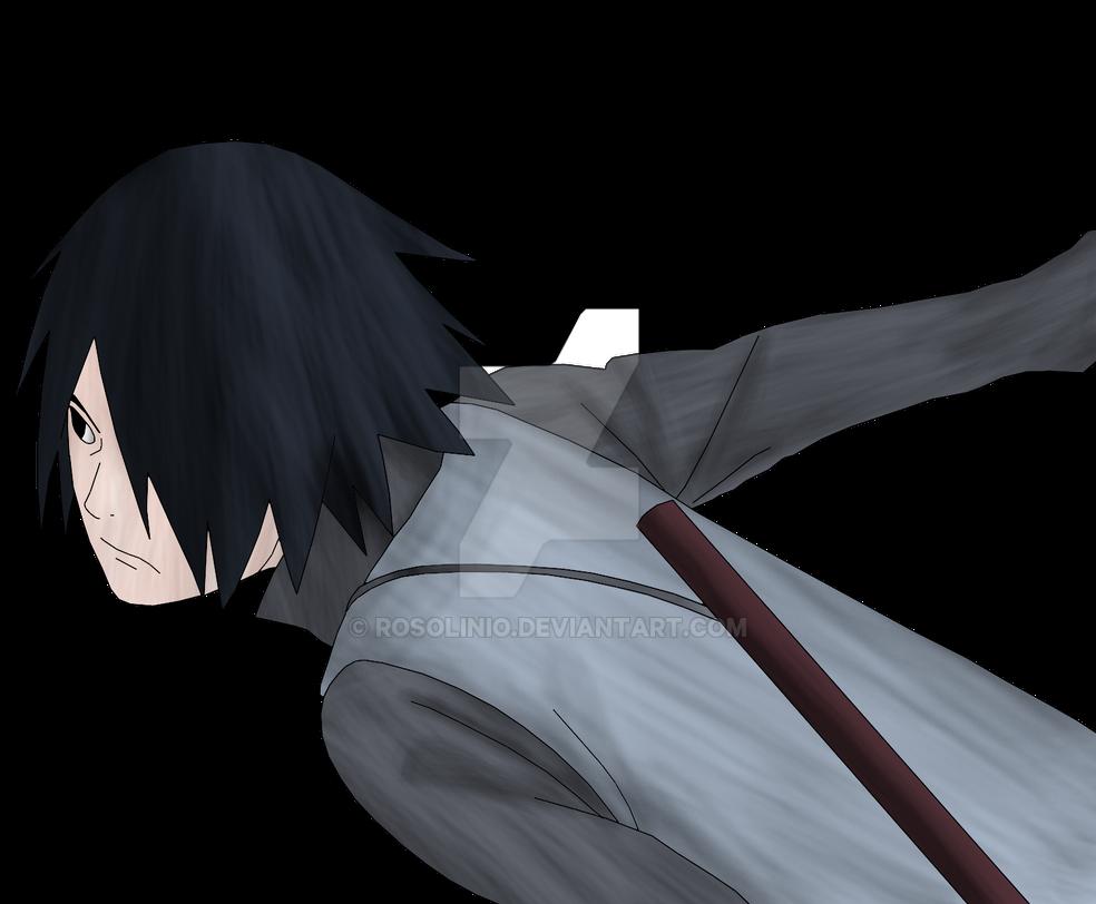 Sasuke Lineart : Sasuke uchiha boruto the movie lineart colored by rosolinio on