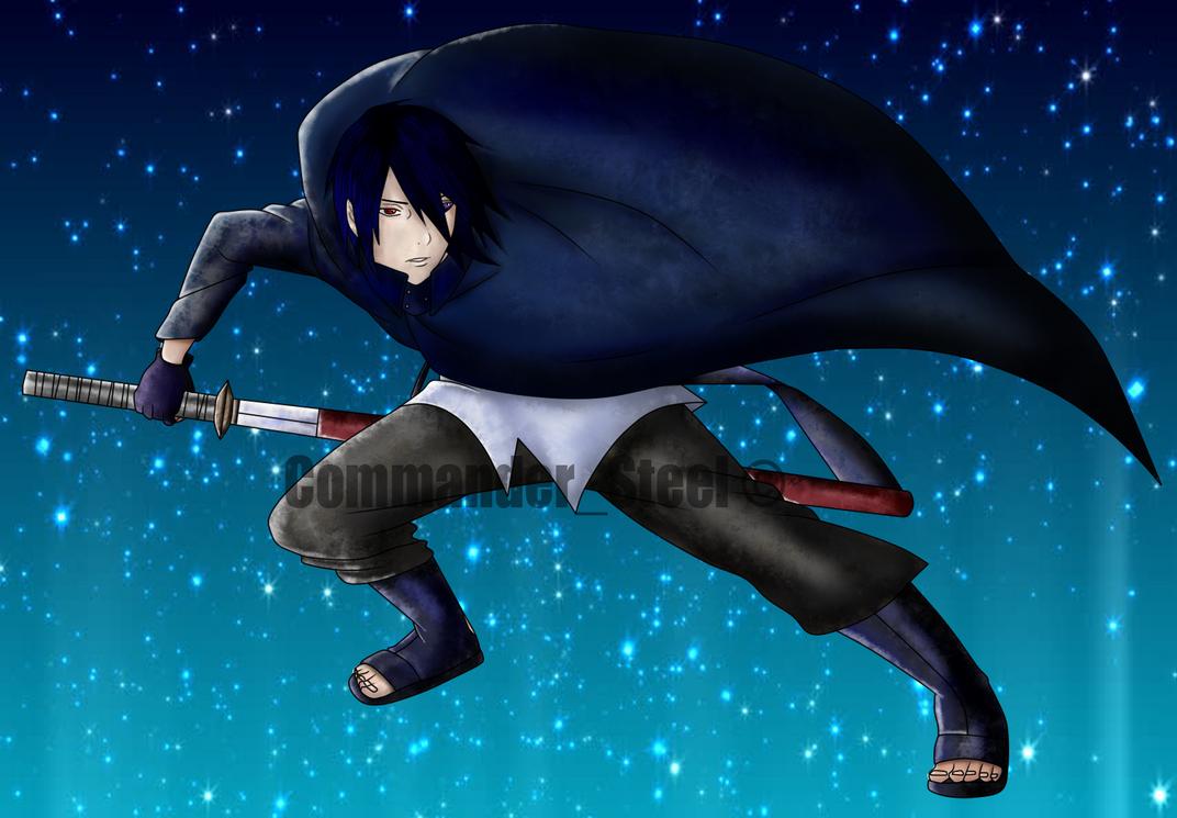 Sasuke Uchiha boruto the movie colored by rosolinio