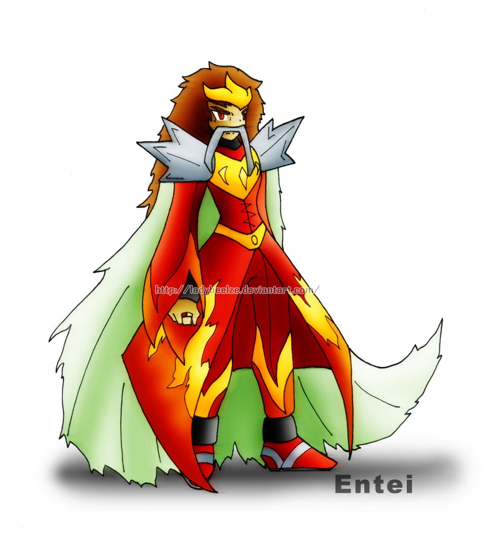 Legendary Entei by LadyBeelze on - 357.1KB