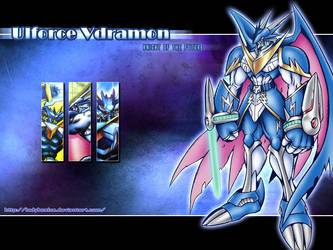 Ulforce Vdramon wallpaper by LadyBeelze