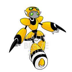 BTB: Battle Bee - Bartebot by LadyBeelze