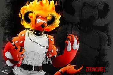 Zedaquiel by LadyBeelze