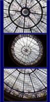 Stained Glass Ceiling 2 by DyanaRoseJill