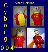 Cyborg 004 Bear by DyanaRoseJill