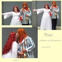 Ponyo's Parents .:Acen 2013:. by DyanaRoseJill