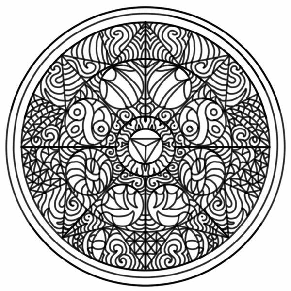 Dragon Mandala by Tysharina