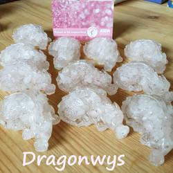 Tickled Pink GemChip Dragons by Tysharina