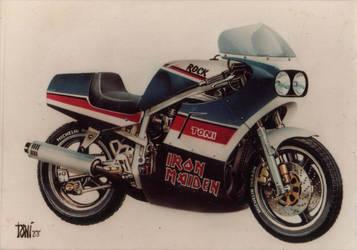suzuki gsxr 750 by toniart57