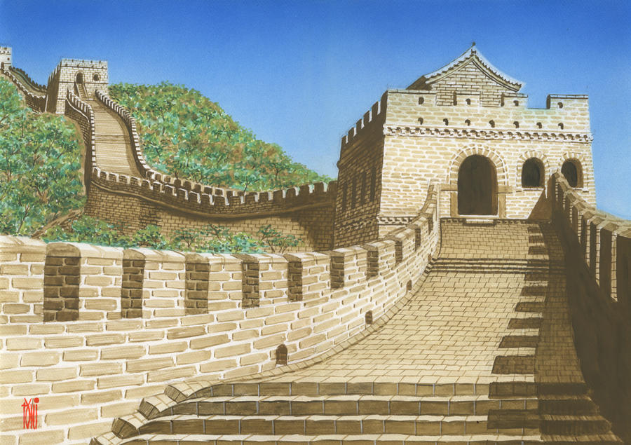 Clash at the Barracks [EVENT MISSION] Seven_wonders_great_wall_by_toniart57