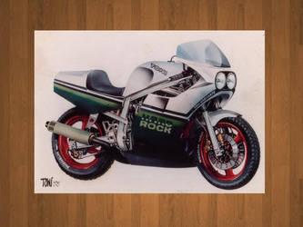 GSXr 750cc 1988 by toniart57