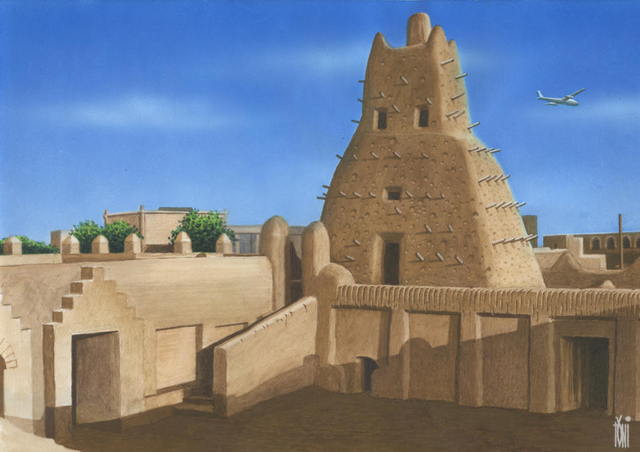 TIMBUKTU_AFRIKA. by toniart57