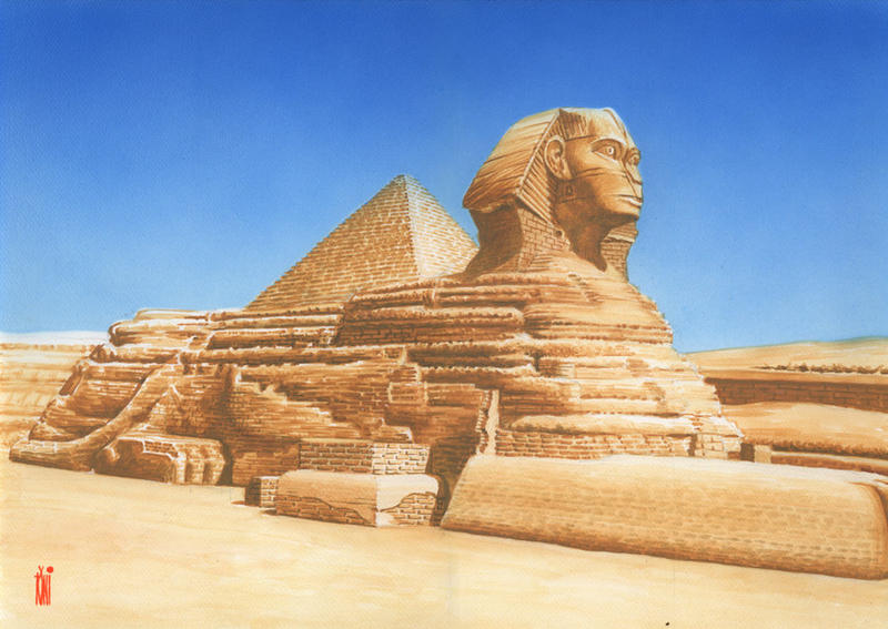 Sphinx by toniart57