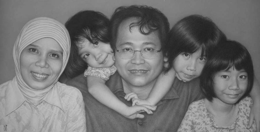Happy family by toniart57