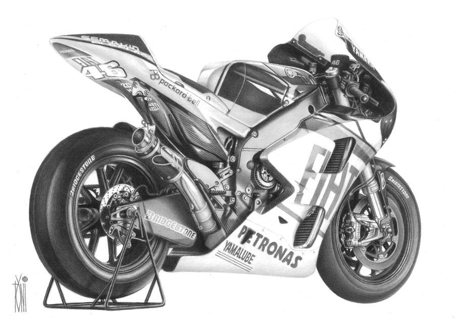 2010 Yamaha M1 by toniart57