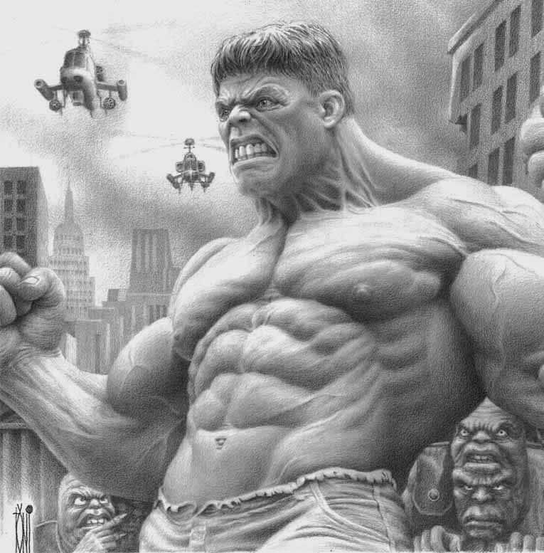 The Incredible Hulk by toniart57