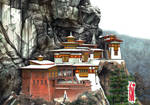 Kasteel Tibet by toniart57
