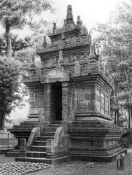 Candi Cangkuang by toniart57