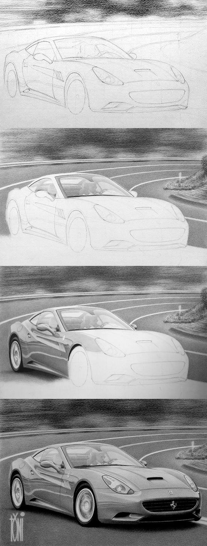 Ferrari California by toniart57