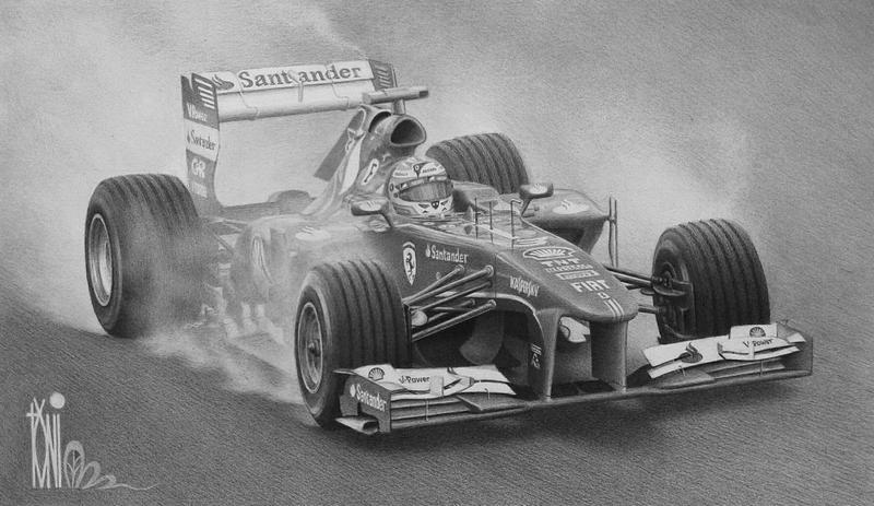 Fernando Alonso by toniart57
