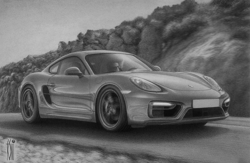 Porsche Cayman by toniart57