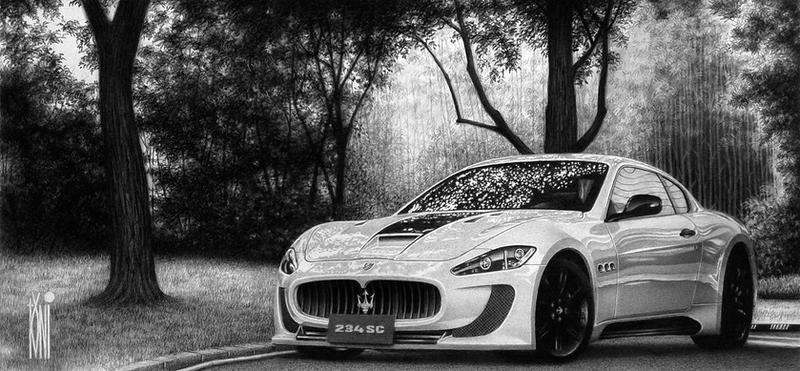 Maserati granturismo by toniart57