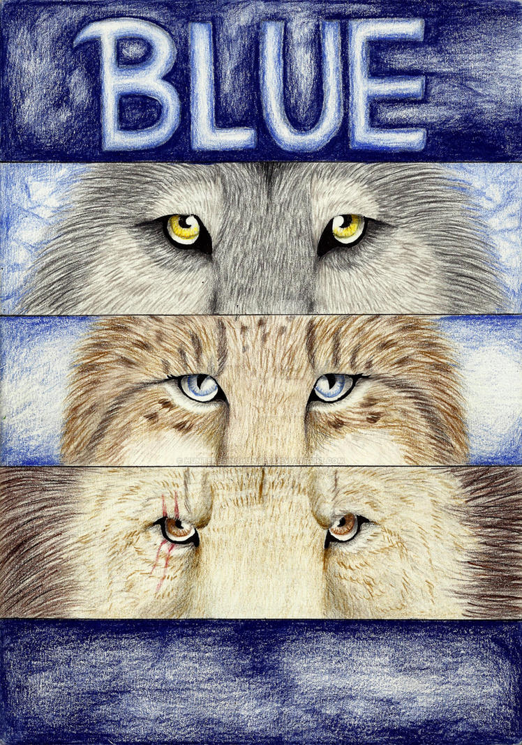 BLUE cover page by HunterBeingHunted
