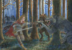 Red Riding hood vs Werewolves